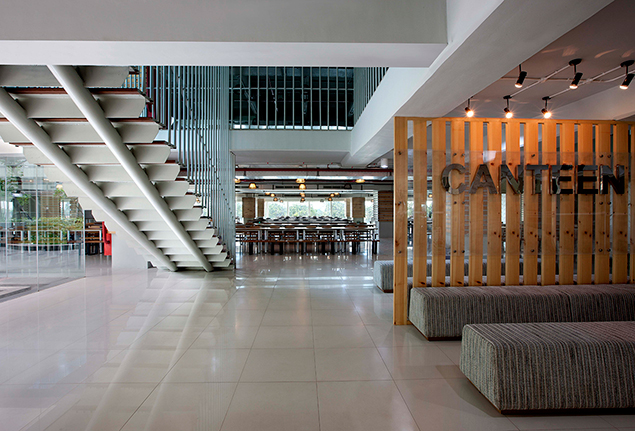 UNITED TRACTORS HEAD OFFICE INTERIOR JAKARTA